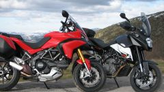 Ducati Multistrada 1200 vs KTM 990 SMT LE - Immagine: 6