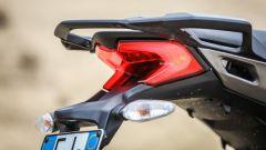Ducati Multitrada 950: il gruppo ottico posteriore