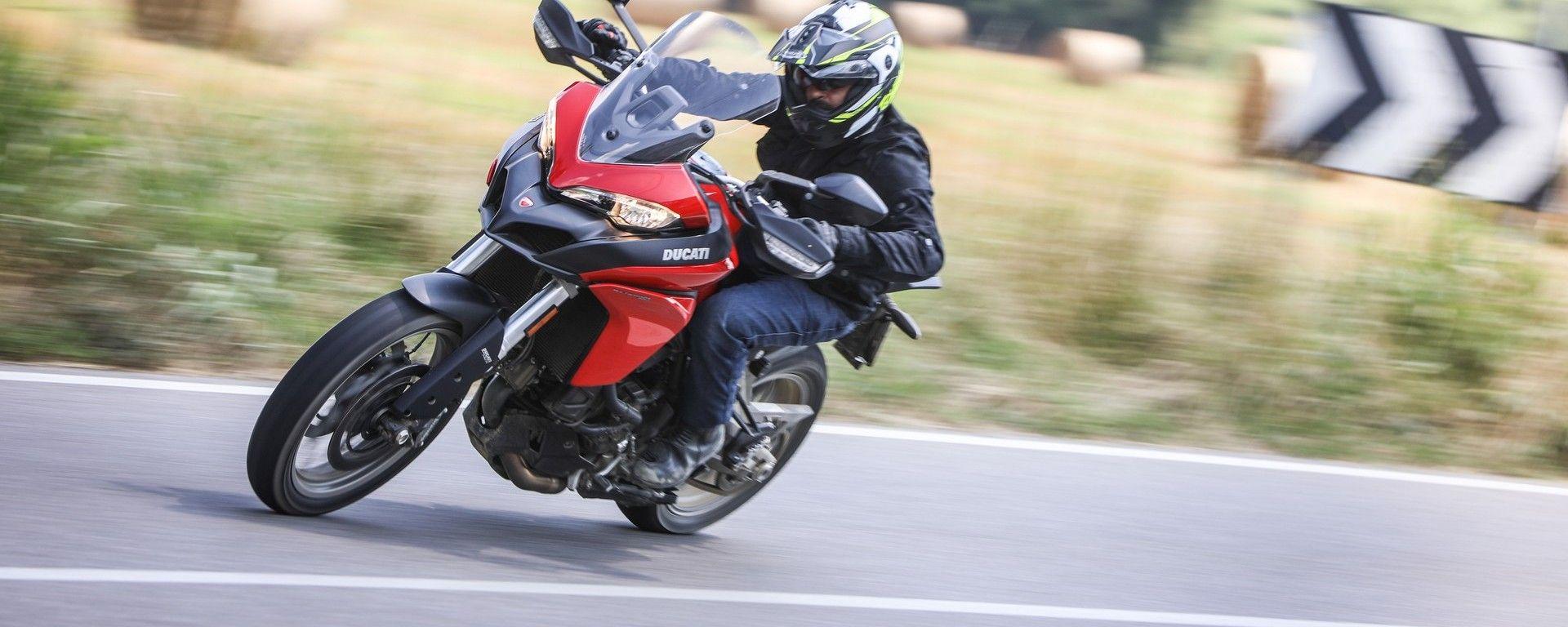 Ducati Multitrada 950: la prova su strada