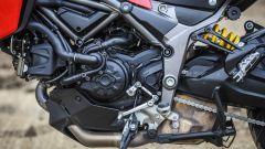 Ducati Multitrada 950: lato sinistro del motore