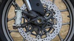 Ducati Multitrada 950: le pinze freno Brembo monoblocco radiali