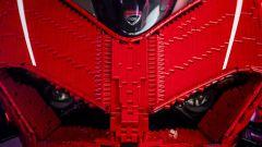 Ducati Panigale R Lego Technic in scala 1:1: il frontale