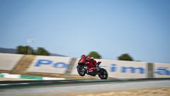 Ducati Panigale Superleggera V4 in azione a Portimão
