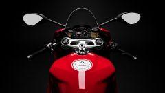 Ducati Panigale V2: dettagliod el manubrio