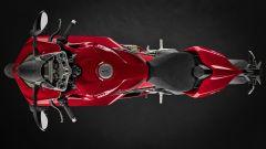Ducati Panigale V4 2020, vista dall'alto