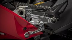Ducati Panigale V4 by Rizoma, kit pedane regolabili