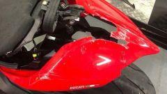 Ducati Panigale V4, chissà quanto costerà riparare il danno