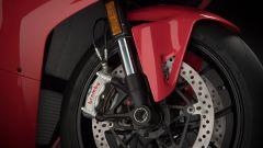 Ducati Panigale V4: dettaglio dell'avantreno