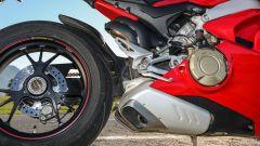 Ducati Panigale V4: dettaglio dello scarico