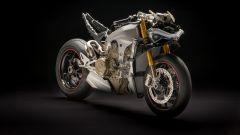 Ducati Panigale V4: la meccanica. Vista 3/4 anteriore