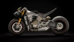 Ducati Panigale V4: la meccanica. Vista lato sinistro