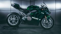 Ducati Panigale V4 Matrix: colore verde scuro e tanti particolari, anche della ciclistica, per il kit