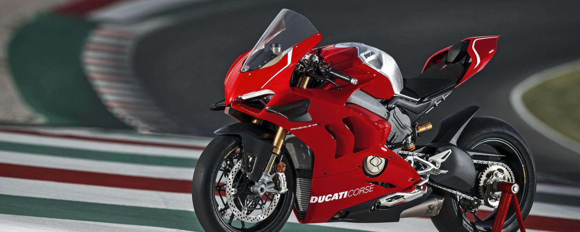 Ducati Panigale V4 R con un motore da 234 CV