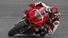 Ducati Panigale V4 R in azione in pista