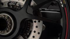 Ducati Panigale V4 S: dettaglio del mozzo posteriore