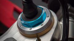 Ducati Panigale V4 S: la testa della forcella a controllo elettronico