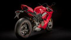 Ducati Panigale V4 S: vista 3/4 posteriore