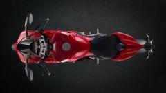 Ducati Panigale V4 S: vista dall'alto
