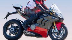 Ducati Panigale V4 Superleggera: vista laterale destra