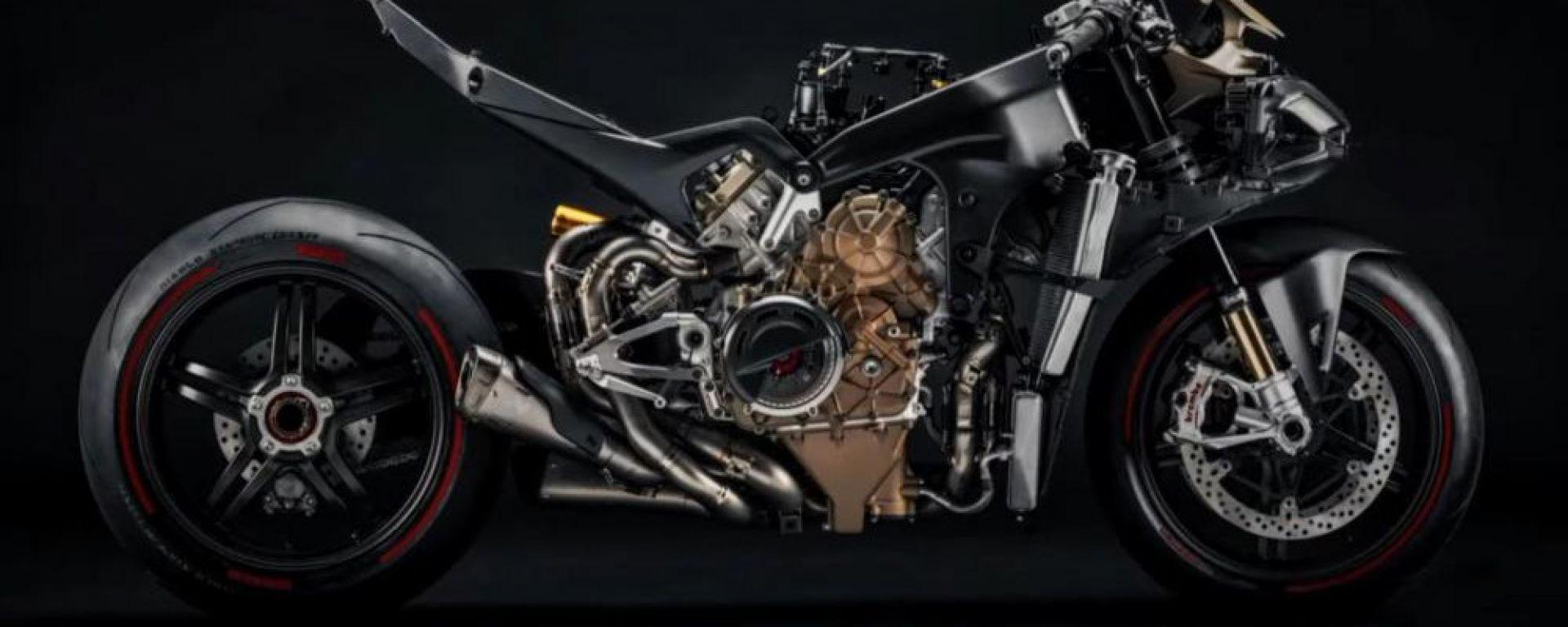 Ducati Panigale V4 Superleggera: vista laterale