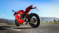 Ducati Panigale V4: vista 3/4 posteriore