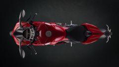 Ducati Panigale V4: vista dall'alto