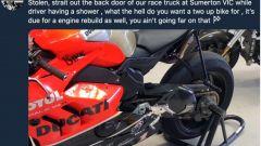 Ducati: la Panigale V4R di Bayliss è stata rubata. La reazione del Campione - Immagine: 2