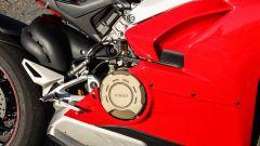 Ducati Panigale V4s: dettaglio del carter frizione