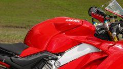Ducati Panigale V4s: dettaglio del serbatoio