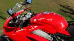 Ducati Panigale V4s: dettaglio della struttura a motore portante
