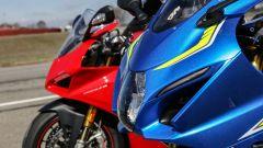 Ducati Panigale V4s e Suzuki GSX-R1000R: cupolini a confronto