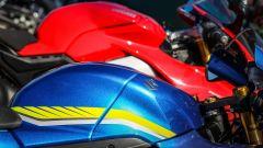 Ducati Panigale V4s e Suzuki GSX-R1000R: i serbatoi