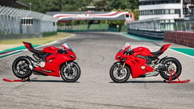 Ducati Panigale V4S e V2