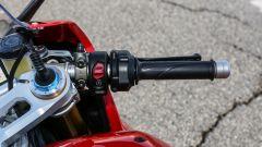 Ducati Panigale V4s: i comandi al semimanubrio destro