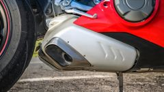 Ducati Panigale V4s: il doppio scarico