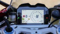 Ducati Panigale V4s: il quadro strumenti