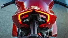 Ducati Panigale V4s: la firma luminosa posteriore