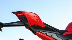 Ducati Panigale V4s: una vista del codone