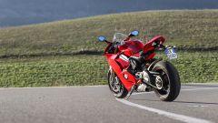 Ducati Panigale V4s: vista 3/4 posteriore