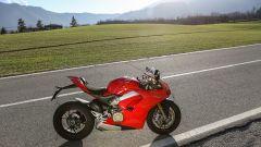 Ducati Panigale V4s: vista laterale