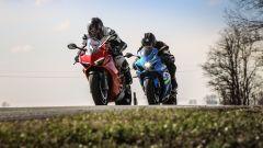Ducati Panigale V4s vs Suzuki GSX-R1000R a Philip Island (Cervesina)