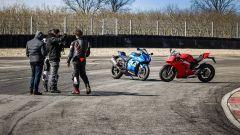 Ducati Panigale V4s vs Suzuki GSX-R1000R: sarà venuta bene?