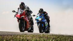 Ducati Panigale V4s vs Suzuki GSX-R1000R
