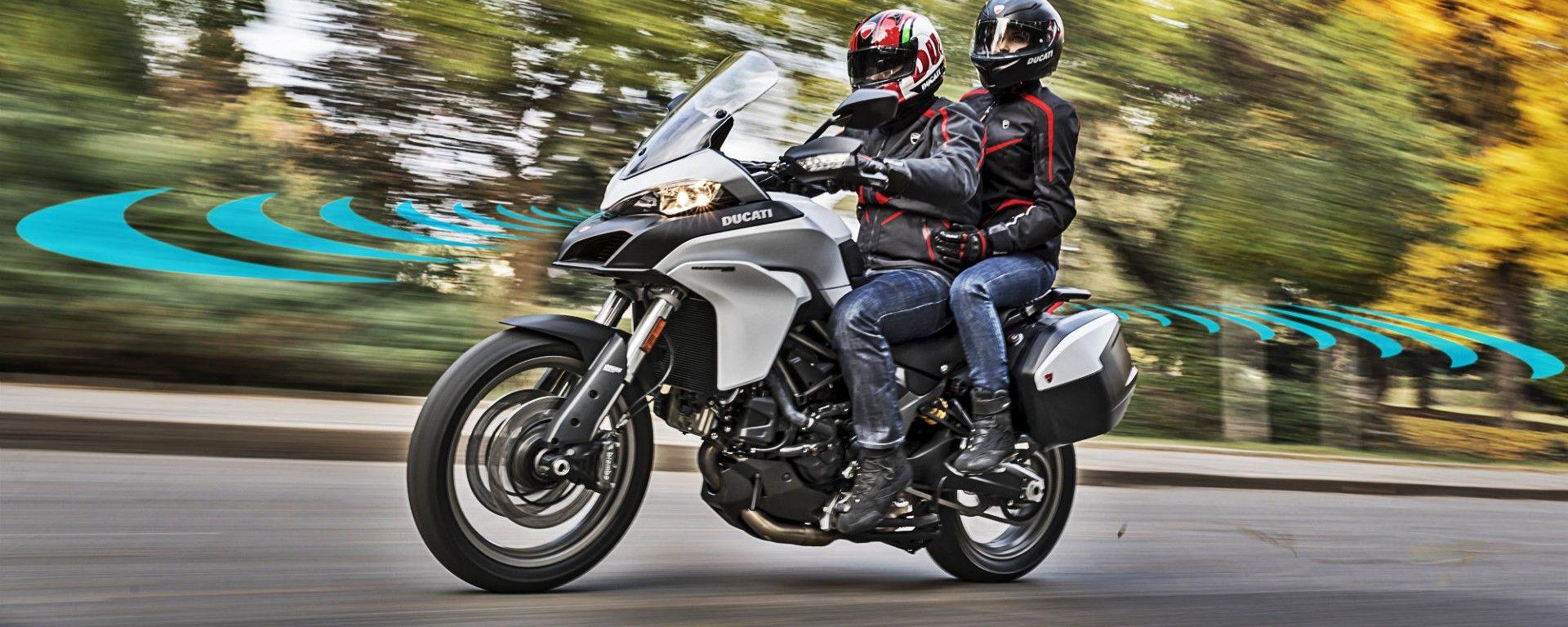 Ducati prepara la moto con il radar: sarà in vendita nel 2020