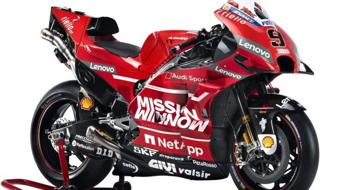 Ducati Project 1708: la Desmosedici GP19 di Dovizioso e Petrucci