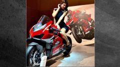 Ducati Project 1708: la foto scappata in rete della V4 Superleggera