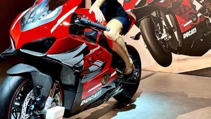 Ducati Project 1708: la prima foto in rete della V4 Superleggera
