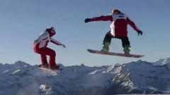 Ducati: Rossi e Hayden a tutta birra sulla neve - Immagine: 1