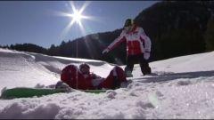 Ducati: Rossi e Hayden a tutta birra sulla neve - Immagine: 3