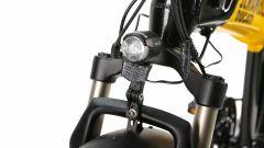 Ducati SCR-E: la forcella anteriore
